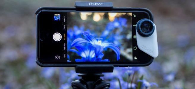 Rätt kamerastativ gör det enkelt att fota och filma med mobilen