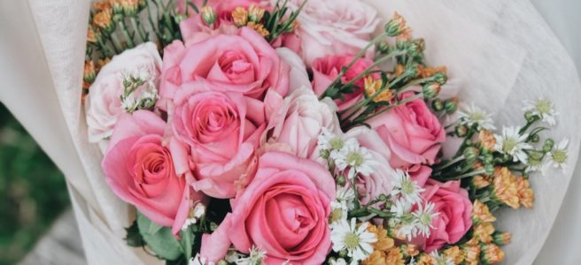 Blombud i Kungsholmen symboliserar omtanke