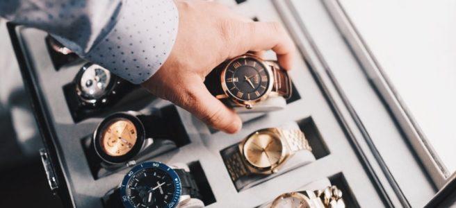 Tid och kvalitet i en klockbutik i Stockholm